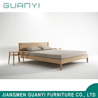 2019 Wooden Bedroom Furniture King Queen Size Double Bed