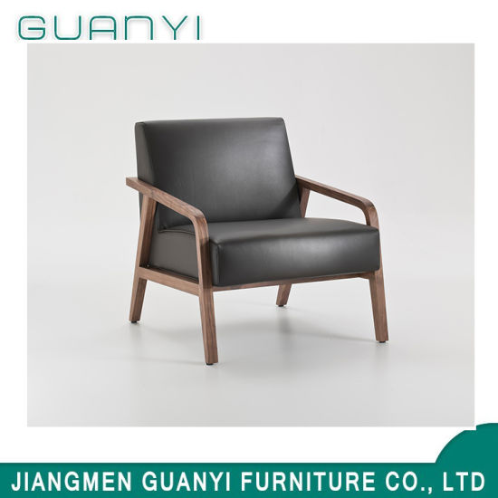 2019 Fashion Design Solid Wooden High Density Armchair