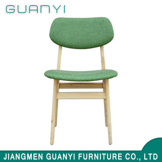 Simple Design Commercial Solid Wood Dining Chair for Restaurant