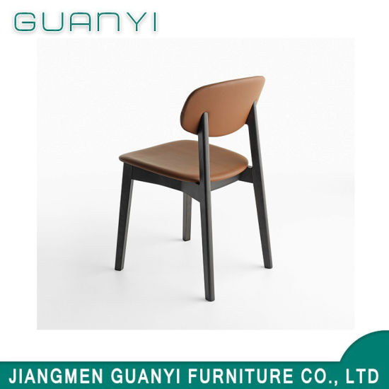 Classic Design PU Seat Home Leisure Restaurant Dining Chair