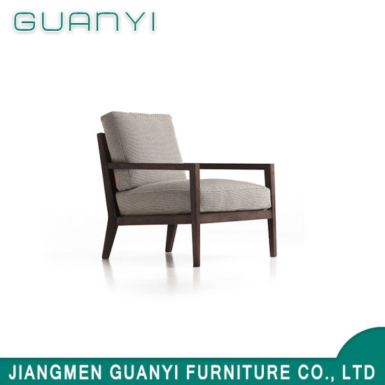 Modern New Arrival Ash Wood Fabric Cover Leisure Chair for Home Hotel
