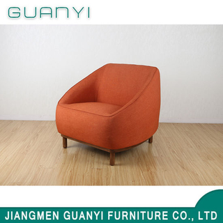 2019 Modern Wooden Furniture Single Hotel Leisure Sofa