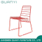 Simply Leisure Red Color Metal Dining Room Outdoor Chair