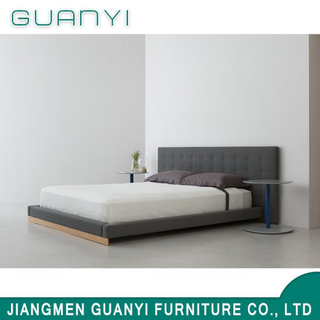 2019 Wooden Base Hotel Bedroom Furniture Double Bed