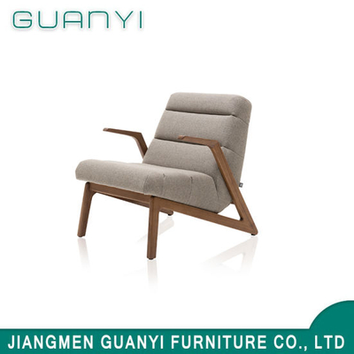 Modern Soft Wooden Frame Hotel Armchair Leisure chair