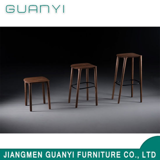 High Medium Low Site Solid Ash Wood with Metal Stool