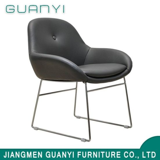 PU Leather Metal Frame Dining Chairs2
