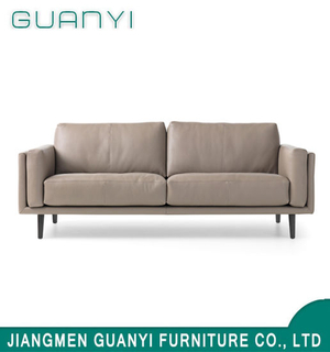 Modern Living Room Furniture Simple Leather Sofa