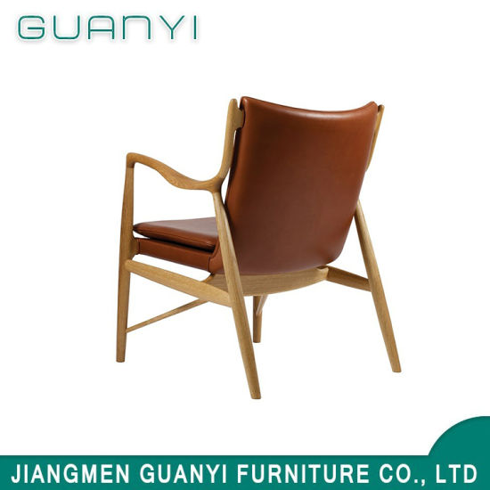 2019 Modern New Wooden Comfortable Hotel Leisure Armchair