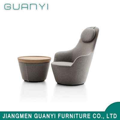 2018 Wooden Base High Back Hotel Living Room Furniture Armchair