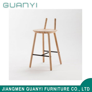 2019 New Modern Wooden Furniture Hotel Bar Stool