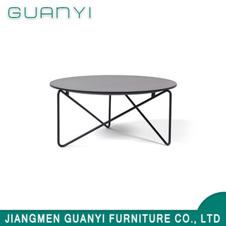2019 Modern Wooden Furniture Metal Restaurant Coffee Table