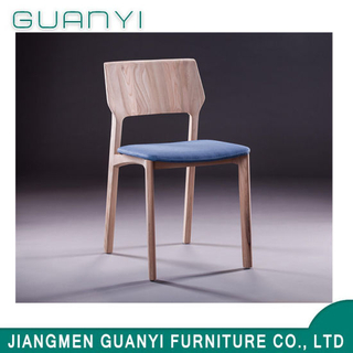 Modern Solid Wood Fabric Furniture Dining Chair