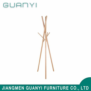 New Product Coat Hanger Stand / Solid Wooden Clothes Hanger for Home